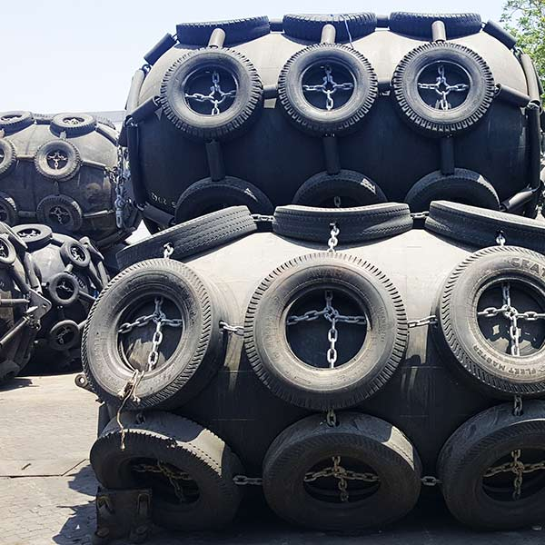 Yokohama Pneumatic Fender In Yard