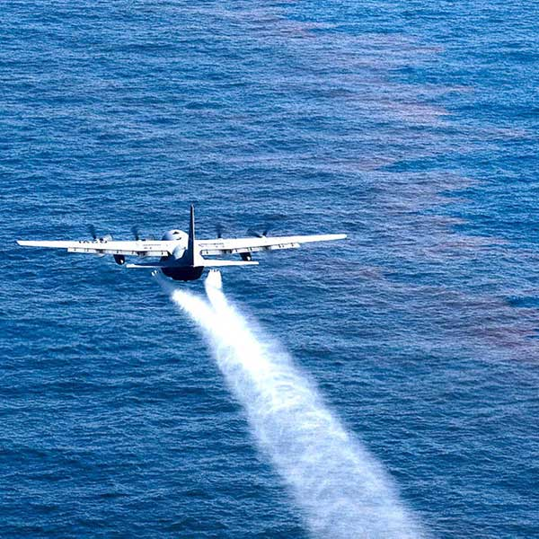 Radiagreen Plane Spraying Dispersants
